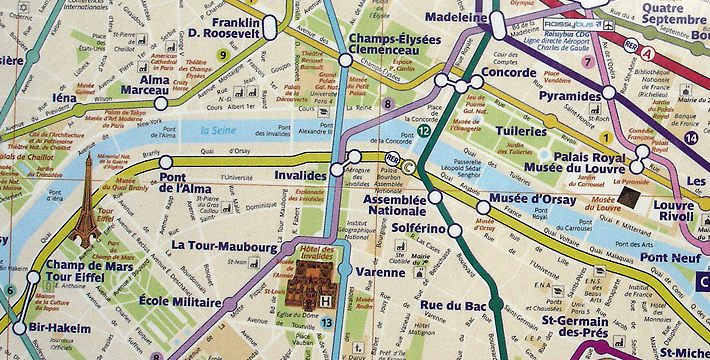 Paris Metro Pass Unlimited Use of Paris Transport System – Paris Tourist Map Pdf